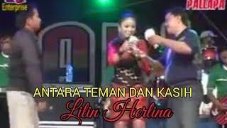Antara teman dan kasih - Lilin herlina - New Pallapa live bangkalan madura 2012