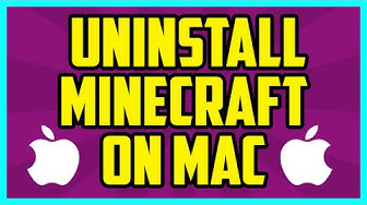 How To Uninstall Minecraft On Mac 2017 (EASY) - How To Completely Delete Minecraft On Mac Tutorial