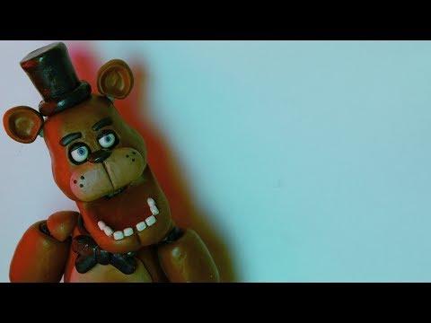 Freddy Fazbear [Tutorial/Пластилин] {FNaF}
