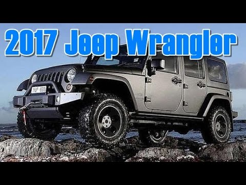2017 Jeep Wrangler Diesel MPG Redesign Interior and Exterior - YouTube