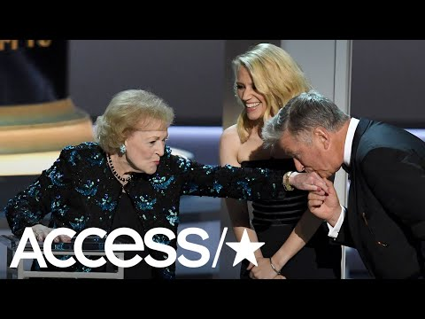 Betty White Steals The 2018 Emmys With Heartfelt & Hilarious Speech  Access