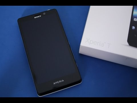Sony Xperia T - Unboxing deutsch