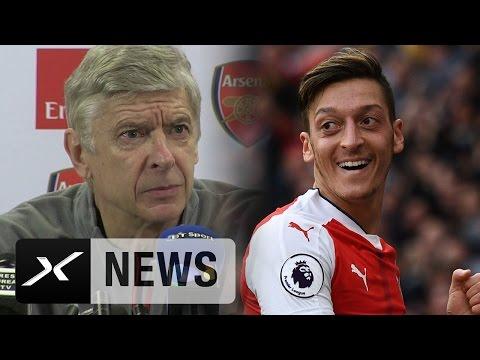 Peinlich! PK-Panne von Arsene Wenger wegen Mesut Özil | FC Arsenal | Ballon d'Or
