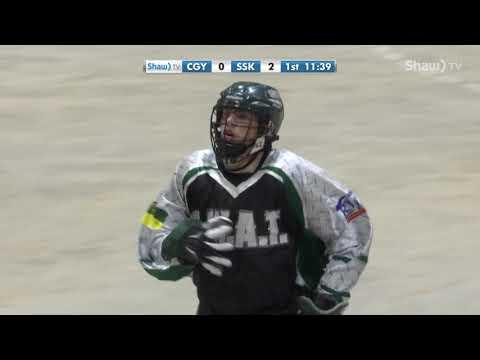 Jr. A Lacrosse - Calgary Mountaineers @ Sask SWAT