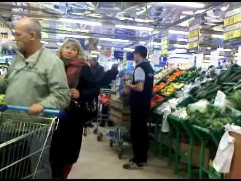 Perekrestok Supermarket Moscow   20101112 1545