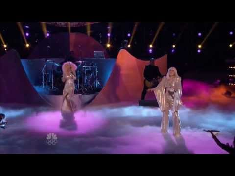 """Lady Gaga And Christina Aguilera 'Do What U Want' HD Live At The Voice """"#TheVoiceFinale"""""""