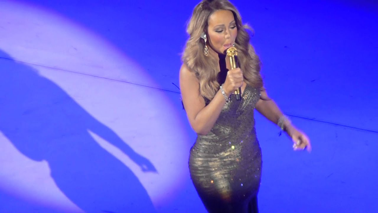 mariah carey christmas in new york new song hd beacon theatre december 17 2015 youtube