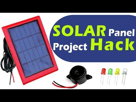 3 Amazing Solar Panel Hack - Solar power projects tutorial