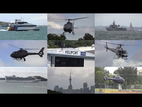 Helicopters, boats and scenery ✈ Mechanics Bay Heliport