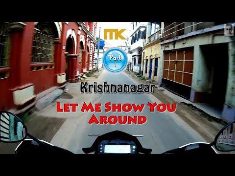 Krishnanagar- Let me show you Around || Part- 1 || Yamaha FZ-S V2.0 Vlog