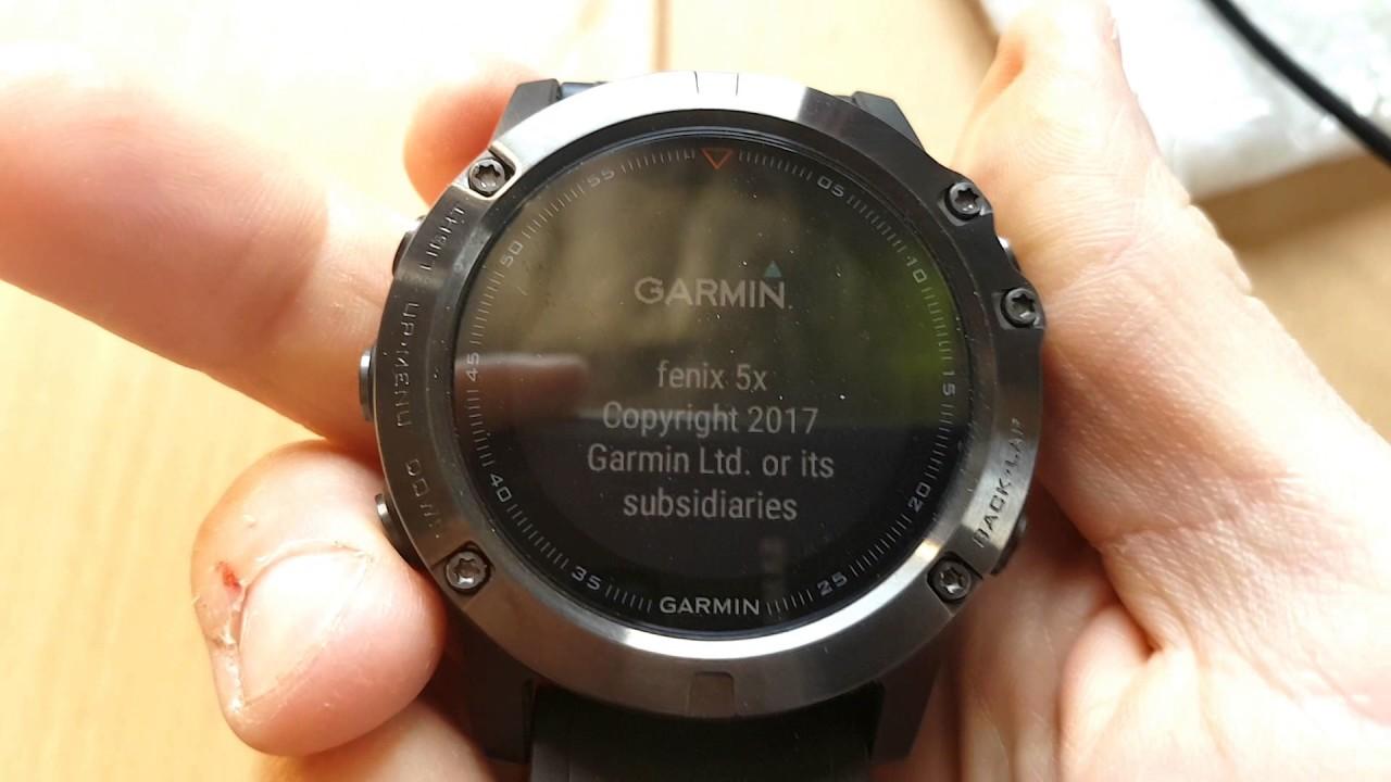 Garmin Fenix Force Power Off And Soft Reset