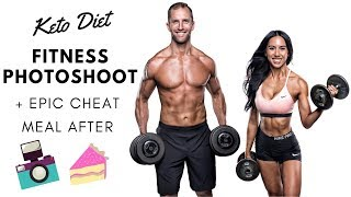 KETO DIET FITNESS PHOTOSHOOT & EPIC CHEAT MEAL
