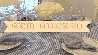 Toalha de mesa sem avesso + Como usar a placa de corte (excelente para iniciantes na costura)