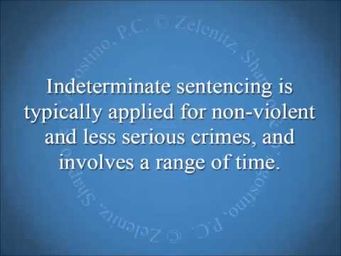 "a determinate sentence A brief explanation about the 'determinate sentence"" statute in juvenile criminal cases ­ what is the  determinate sentencing statute it is a."