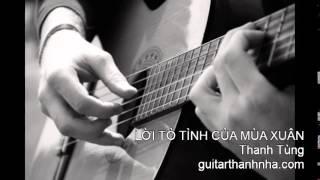LỜI TỎ TÌNH CỦA MÙA XUÂN - Guitar Solo