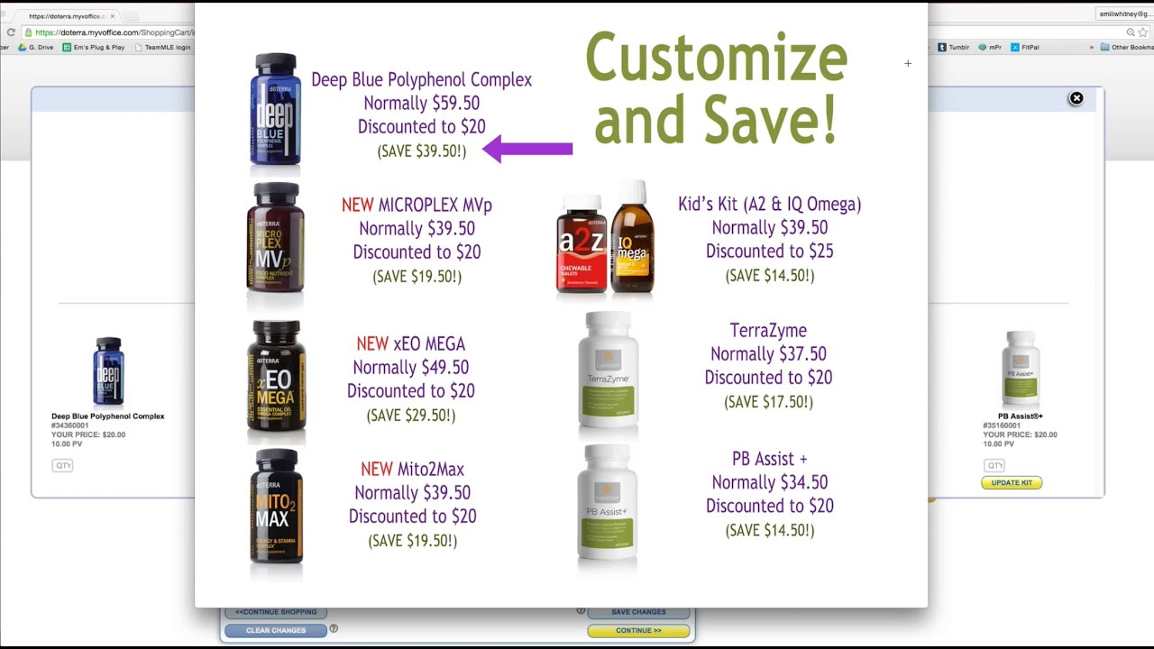 how to delete doterra lrp order