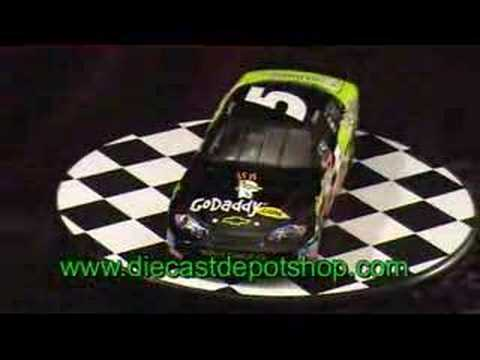 Dale earnhardt jr 2008 godaddy 1 24 action nascar diecast - Diecastdepotshop ...