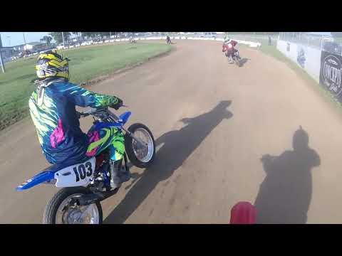 Lawrenceburg Motorcycle Speedway 6/15/18  Practice 100cc Mod
