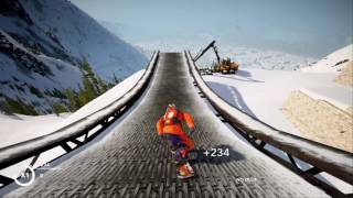 Most EXTREME Run EVER (STEEP Gameplay)