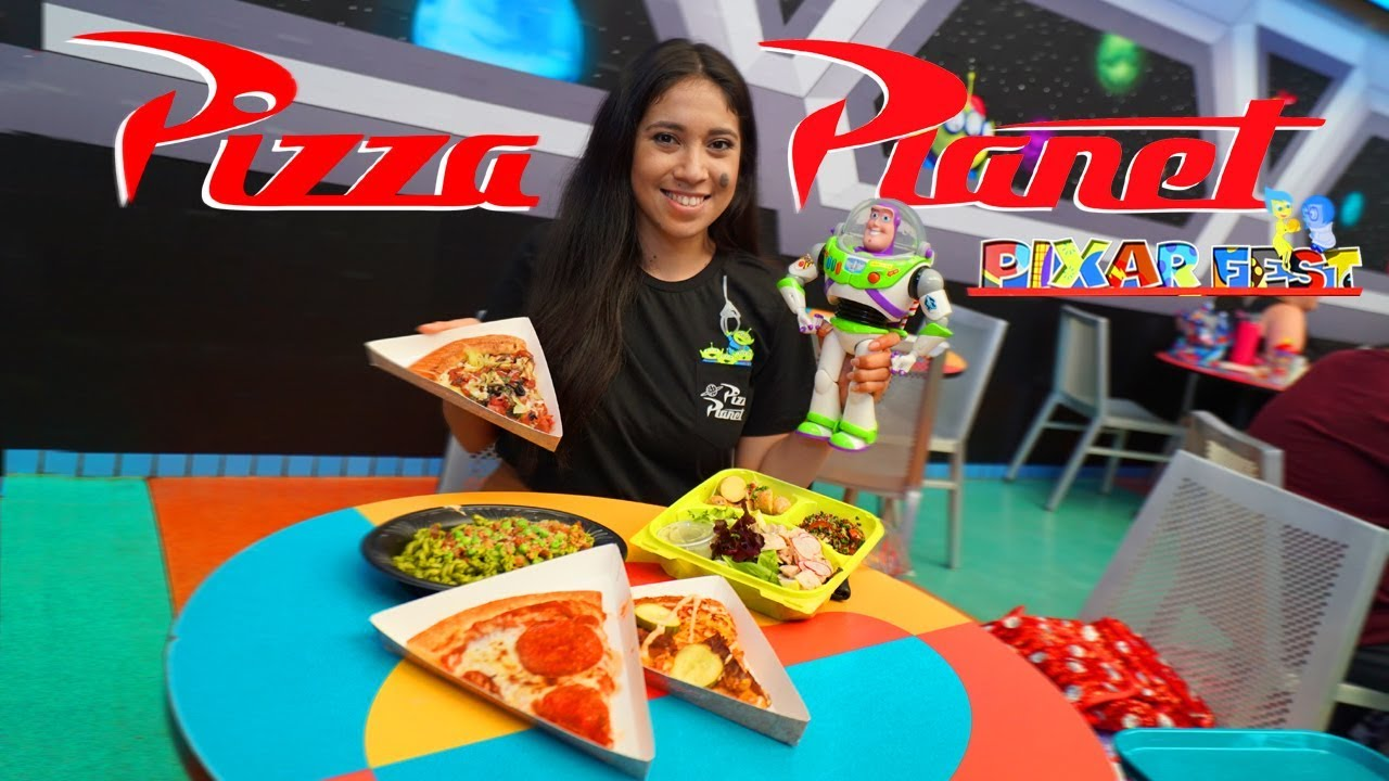 Pizza Planet has now Arrived at Disneyland for Pixar Fest! - YouTube