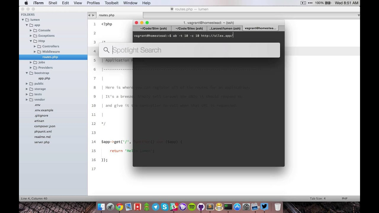 Microservices Architecture Development with Lumen (Laravel