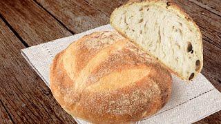 САМЫЙ ПРОСТОЙ И ВКУСНЫЙ ХЛЕБ В МИРЕ Рецепт хлеба без замеса в духовке от шеф повара Виктора Белей