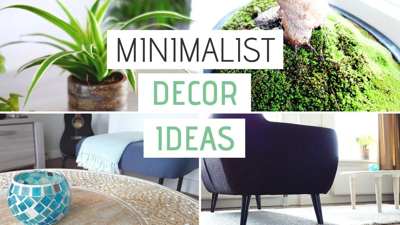 MY MINIMALIST APARTMENT | Minimalist Decor Ideas - YouTube