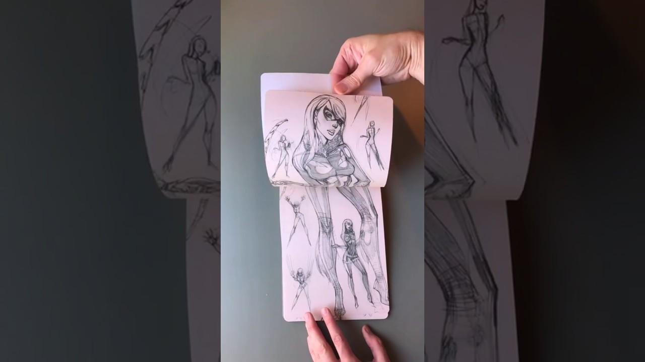J Scott Campbell Sketchbook Pdf