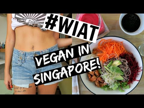 What I Ate Today In SINGAPORE! | Just Vegan