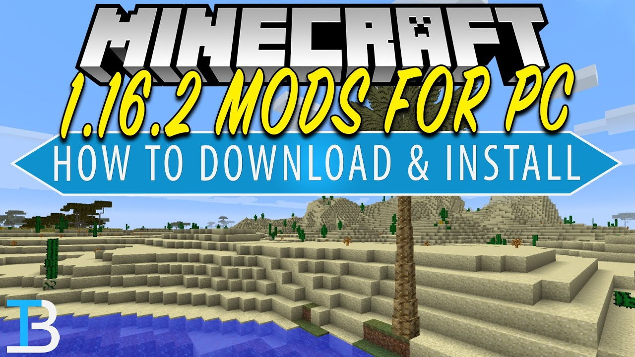 How To Download Install Mods For Minecraft Pc 1 16 2 Add Mods To Minecraft 1 16 2 Youtube