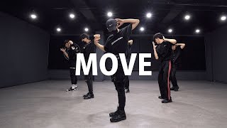 PRODUCE X 101 - 움직여 MOVE Boys ver. 커버댄스 DANCE COVER 안무 거울모드 MIRRORED 연습실 PRACTICE ver.