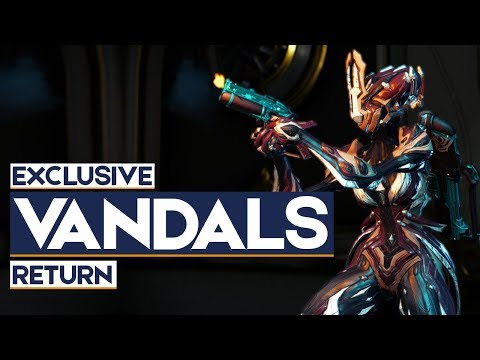 Warframe: Exclusive Vandals Return & Elite Onslaught Rewards