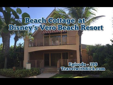 Walk through a Beach Cottage at Disney's Vero Beach Resort