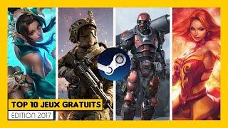 Top10 Jeux Gratuits Steam 2017