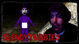 سلندر على تيليتابيز مع إبيك روكيز + فيس كآم ~ ( لعبة رعب ) SlendyTubbies