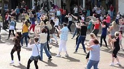 Moky Flash Mob Carlisle City Centre - Sam and the Womp Bom Bom