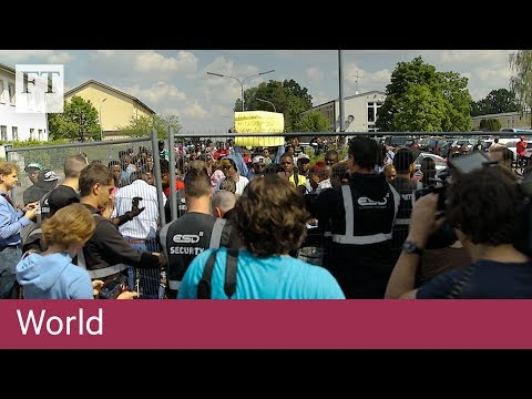 Inside Germany's refugee crisis