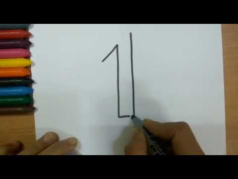 Learn Numbers 1-10. Learn Coloring For Kids. Number coloring and ...