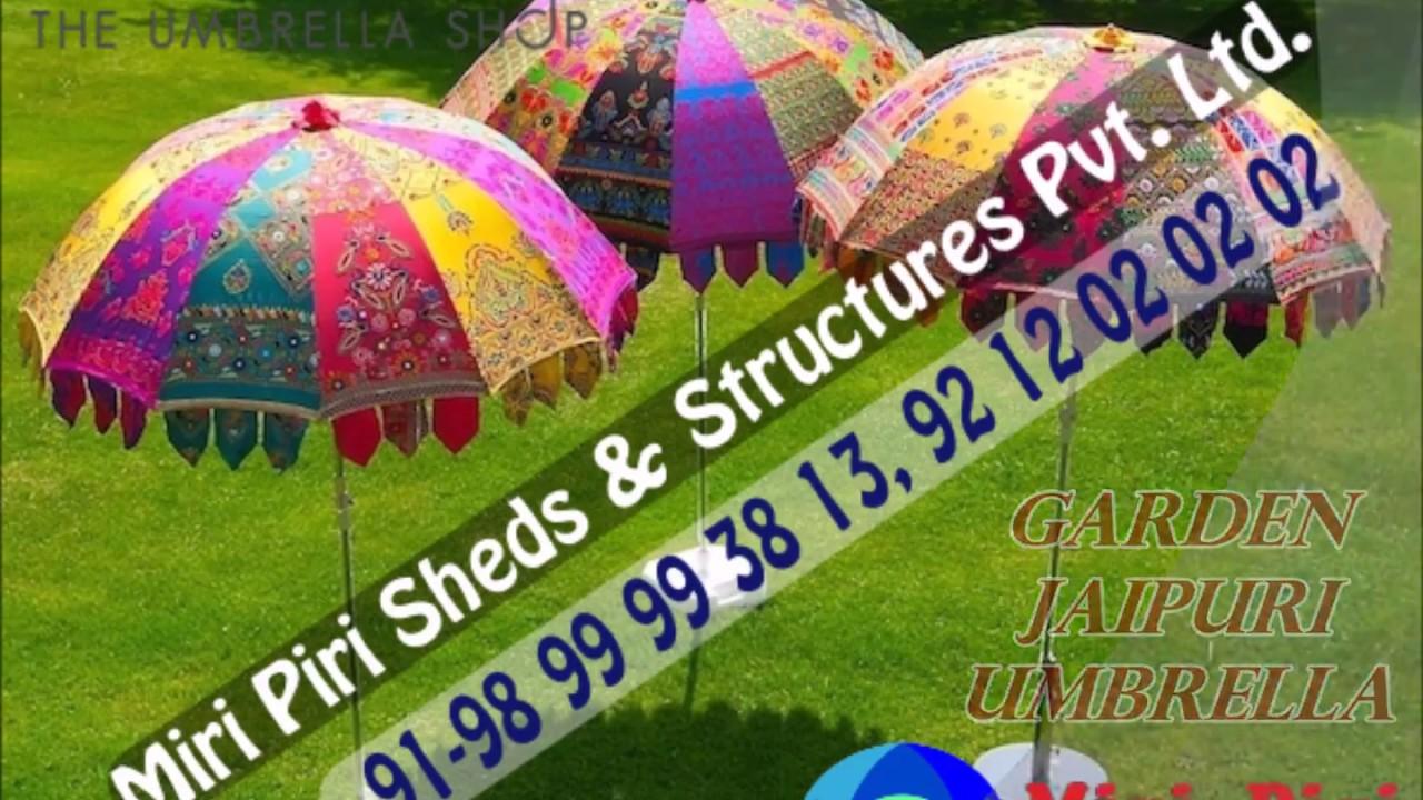 Decorated Umbrellas For Weddings
