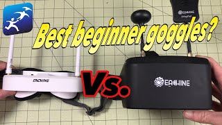 Eachine EV100 vs EV800D Which are the best beginner goggles?