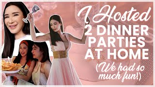 I HOSTED TWO DINNER PARTIES AT HOME (WE HAD SO MUCH FUN) | JAMIE CHUA