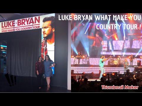 LUKE BRYAN: WHAT MAKES YOU COUNTRY TOUR VLOG// Ana Karen