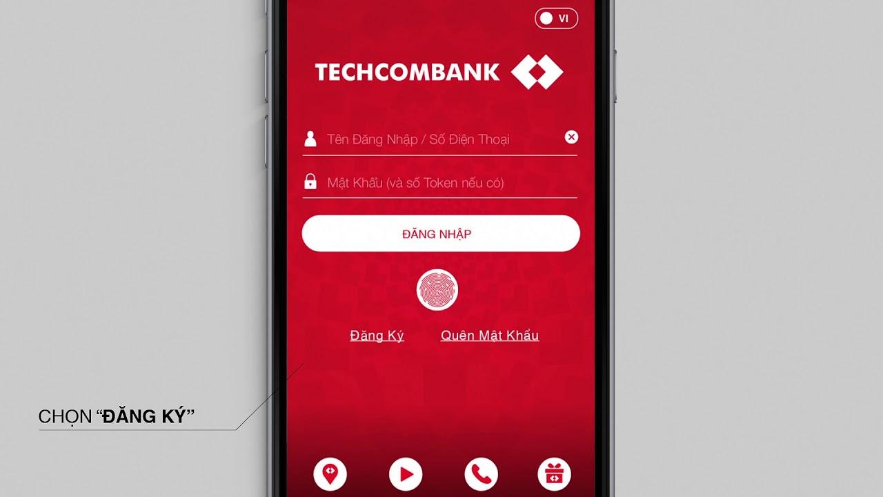 Đăng ký trực tuyến E-Banking Techcombank trên ứng dụng F@st Mobile – Không cần đến quầy