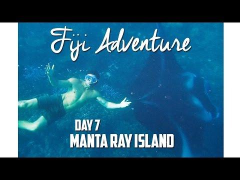Swimming with Mantarays in Fiji (Day 7)