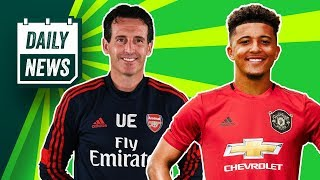 Arsenal SACK Unai Emery!!! + Jadon Sancho to United in January ► Daily News