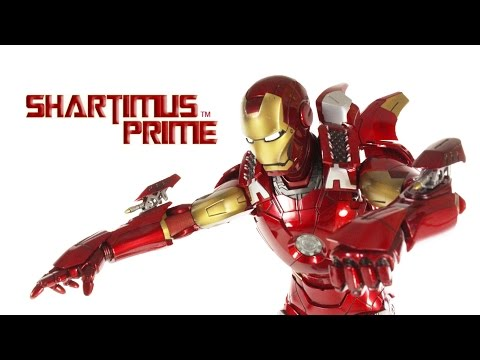 Hot Toys Iron Man Mark VII 7 Marvel's The Avengers Movie 1:6 Scale Action Figure Review