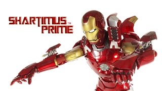 Hot Toys Iron Man Mark VII 7 Marvel's The Avengers Movie 1:6 Scale Action Figure Review streaming