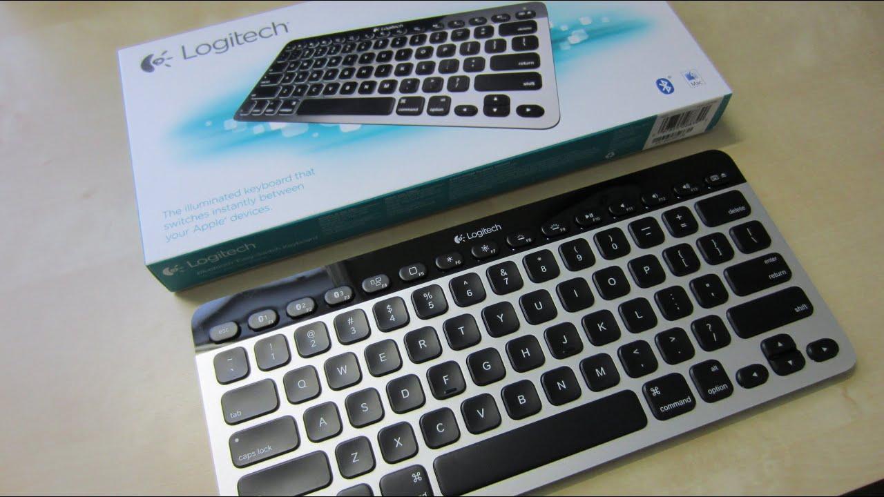 Unboxing: Logitech K811 Bluetooth Easy-Switch Illuminated Apple Keyboard
