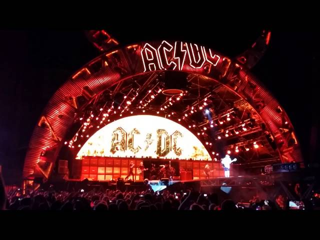ACDC Highway to Hell live 2015 San Francisco