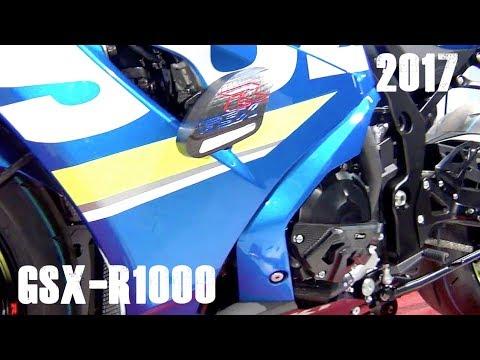 T-Rex 2017 GSX-R1000/GSX-R1000R Frame Sliders - YouTube